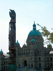 Parliament Buildings in Victoria, B.C.