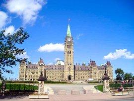 Parliament Hill, Ottawa, Ontario.