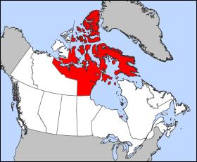 Nunavut Location